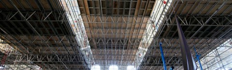 Clear Span Suspended Deck System